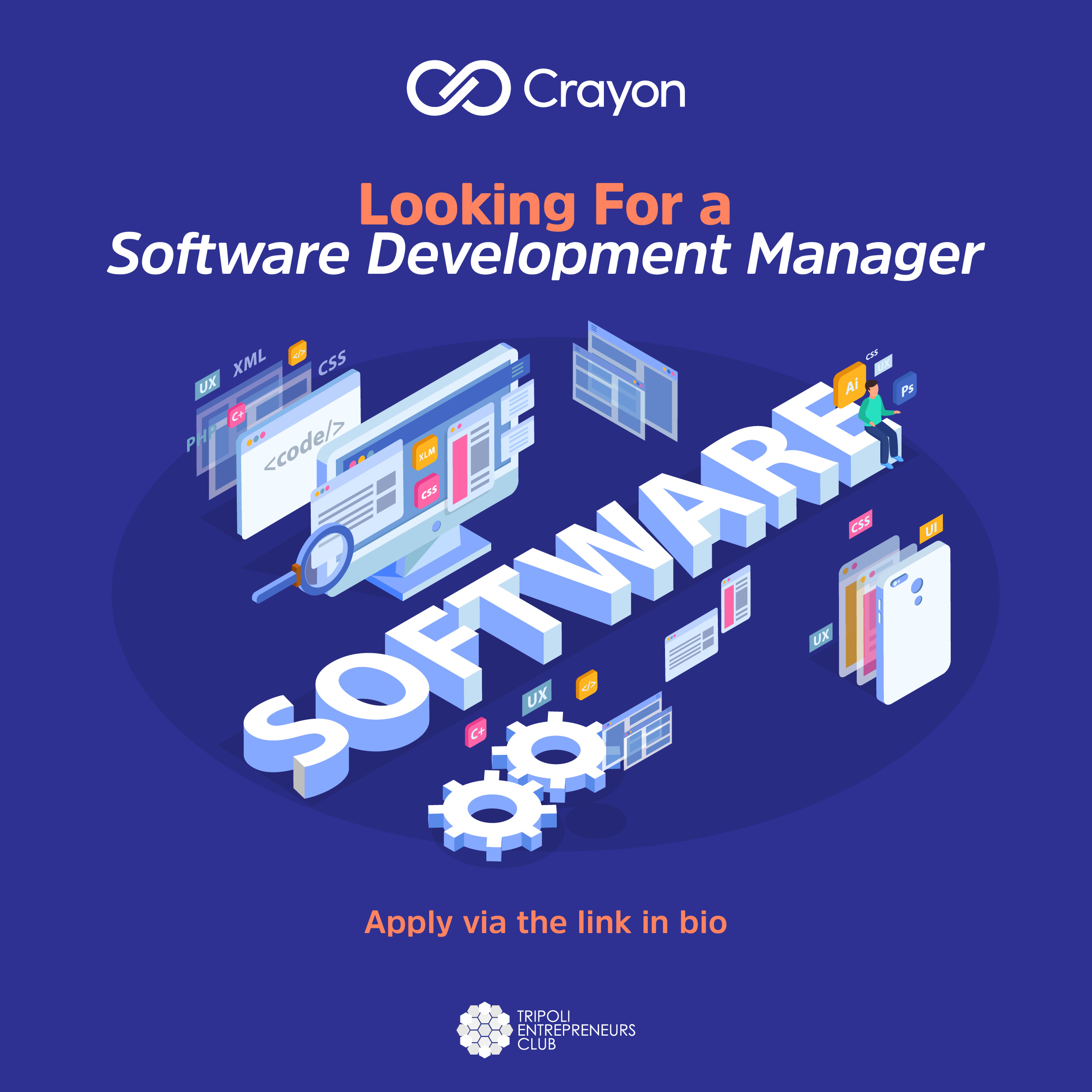 Software Development Manager in Tripoli