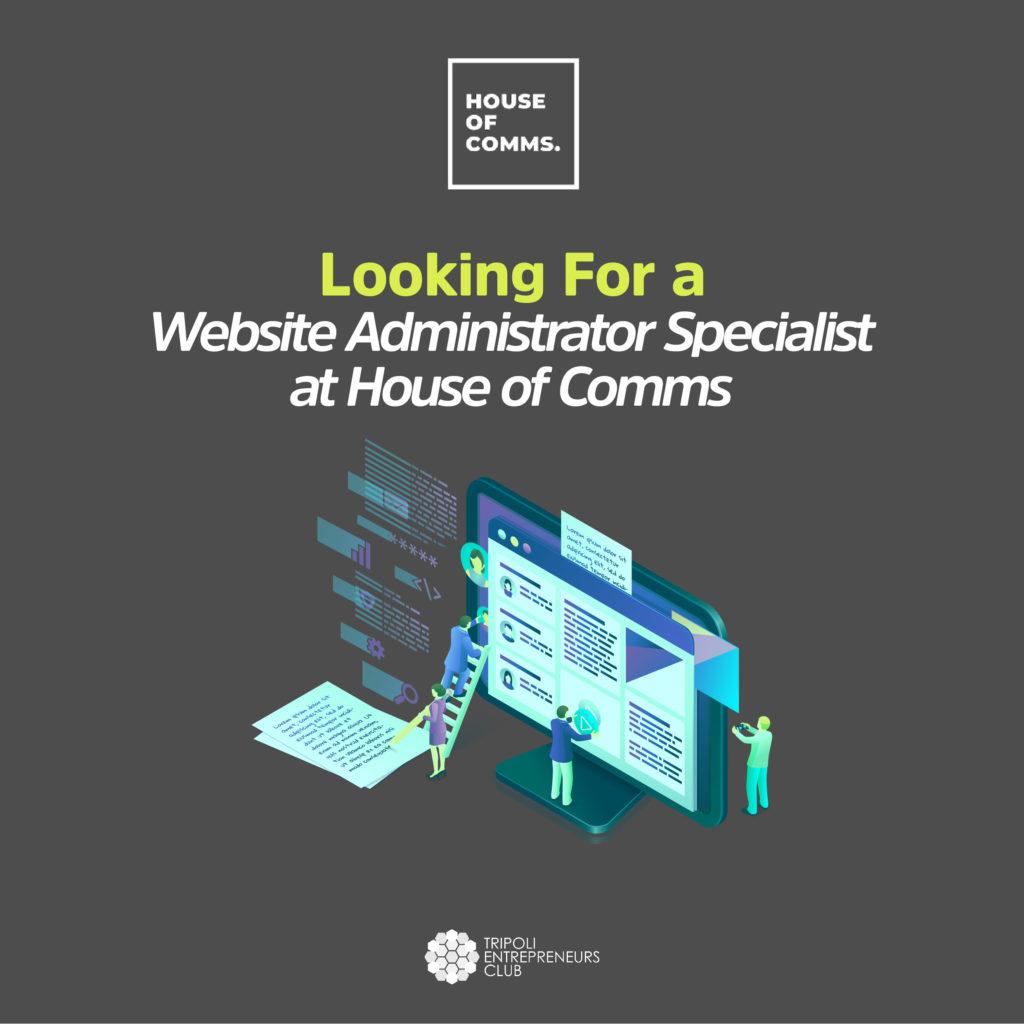 Website Administrator Jobs Vacancy