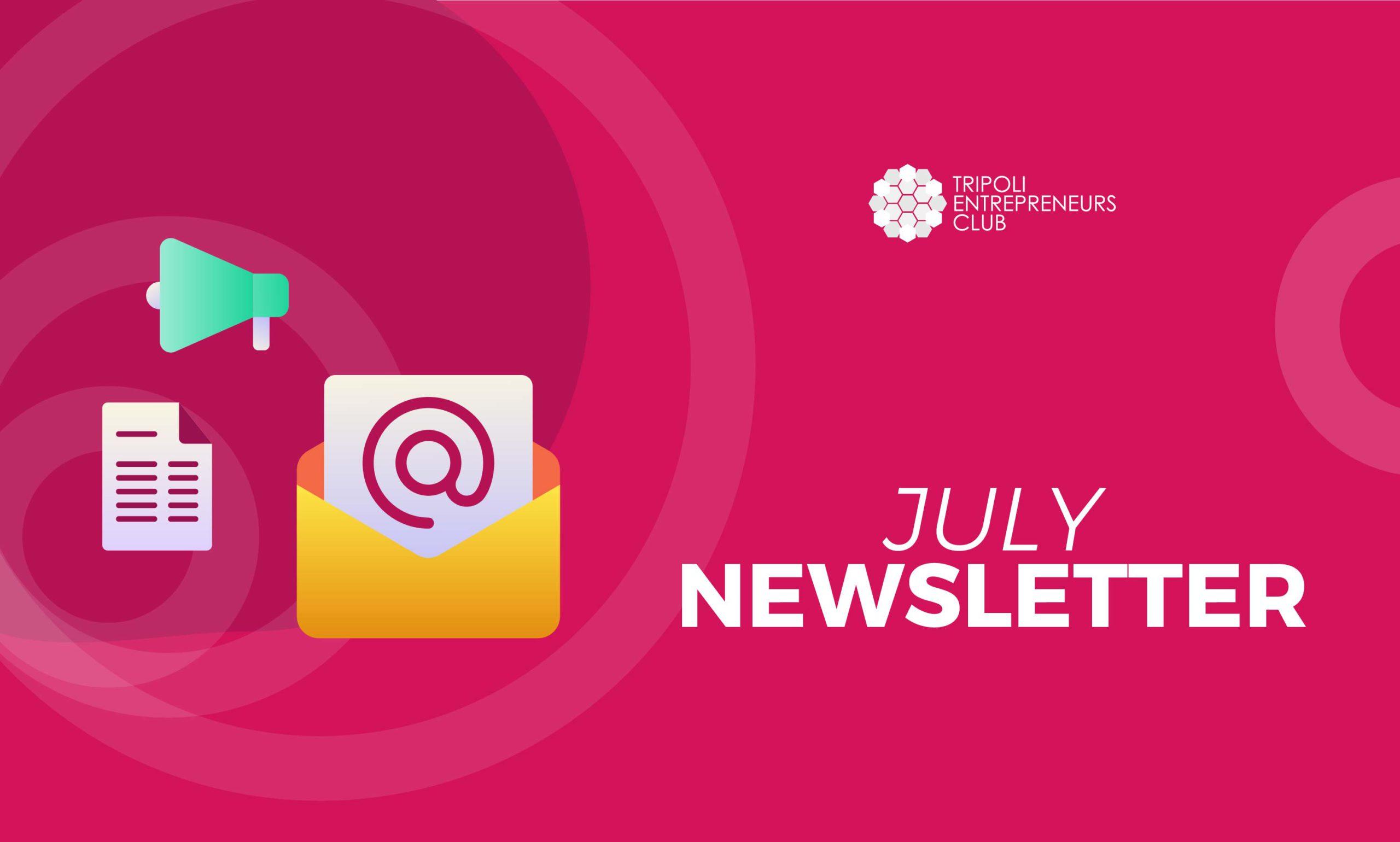 TEC July 2021 Newsletter